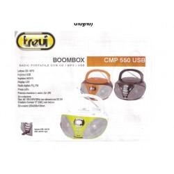 Radio portatile Boombox