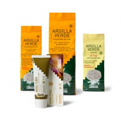 Argilla verde in compresse
